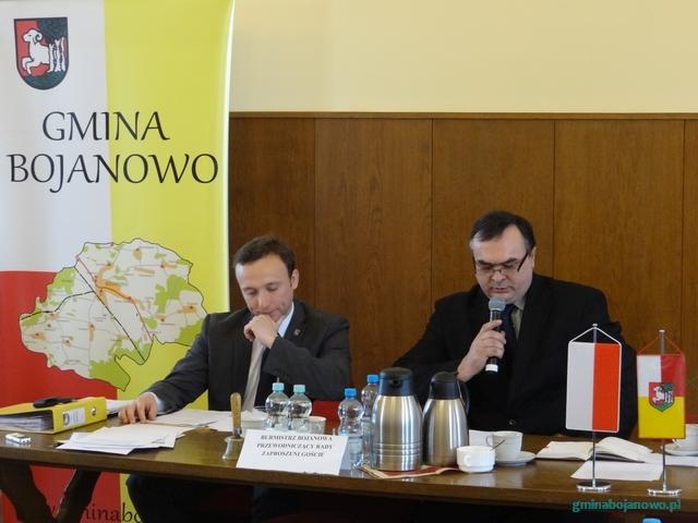 VII sesja Rady Miejskiej w Bojanowie