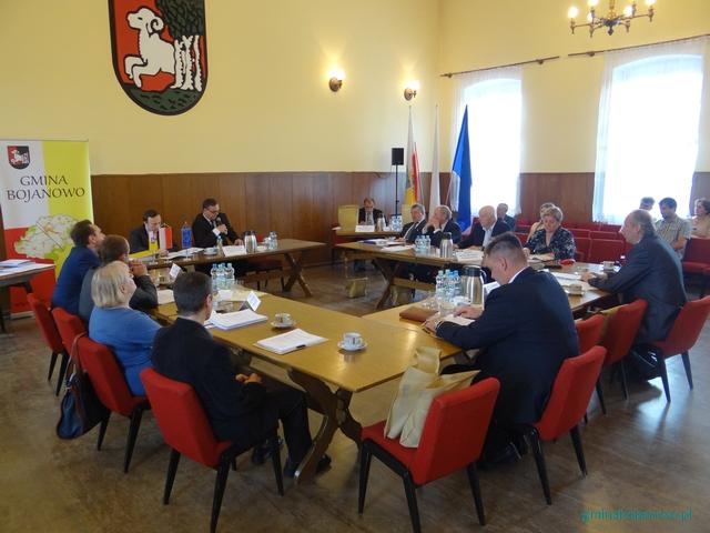 VIII sesja Rady Miejskiej wBojanowie