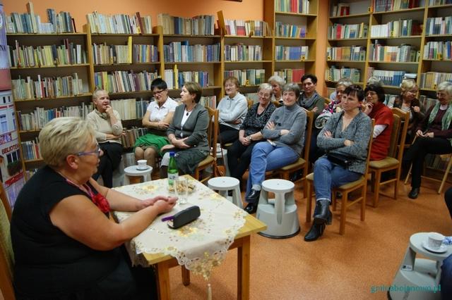 ˝Niebieskie sandały˝ – spotkanie autorskie z Wandą Szymanowską