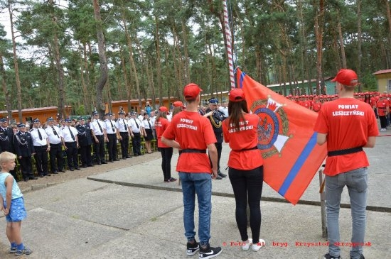 Obóz Młodzieżowych Drużyn Pożarniczych  - ciekawą formą spędzenia wakacji