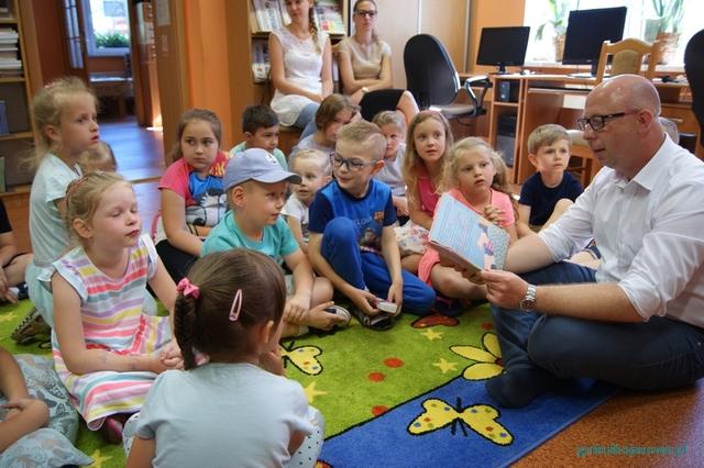 XVI Ogólnopolski Tydzień Czytania Dzieciom w bojanowskiej bibliotece