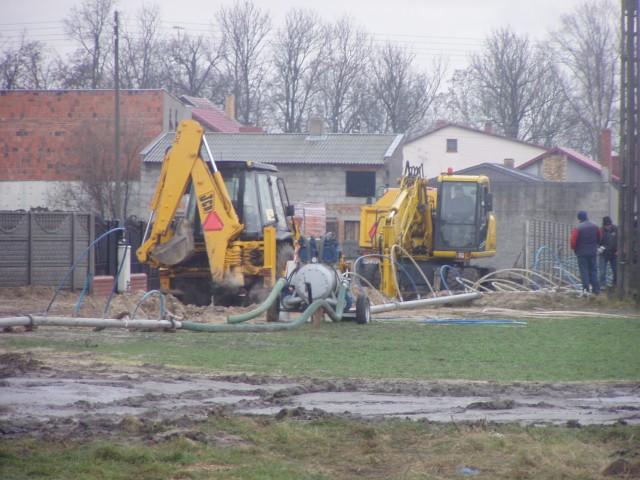 Budowa kanalizacji przy ulicy Żwirki iWigury wBojanowie iGołaszynie na finiszu