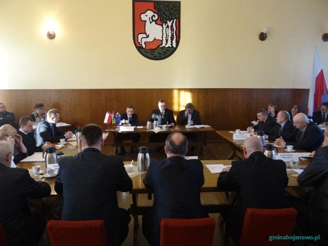 Informacja zII sesji Rady Miejskiej wBojanowie