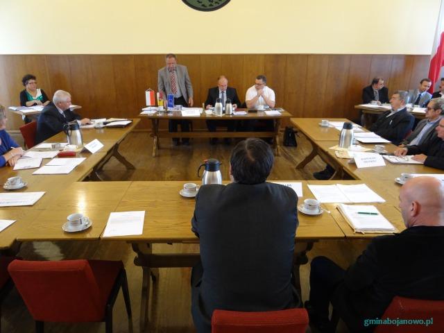 Informacja z XLI sesji Rady Miejskiej w Bojanowie