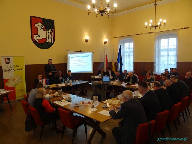 Informacja zV sesji Rady Miejskiej wBojanowie
